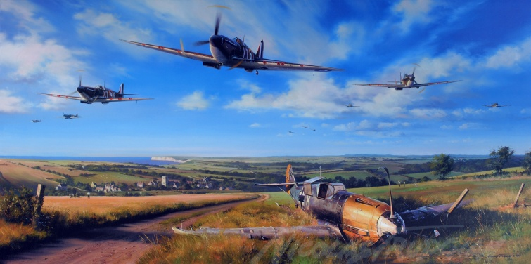 Spitfire Country By Nicolas Trudgian